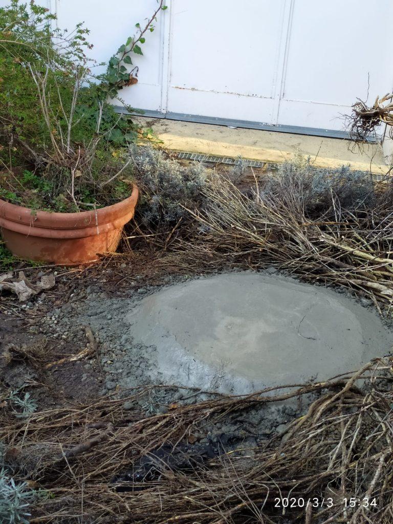il pozzo va sigillato con miscela cementizia